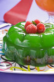 Party jelly dessert Stock Photo