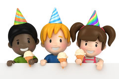 Party kids Royalty Free Stock Photos
