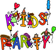 Party Kids Royalty Free Stock Images