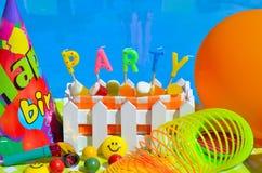 Party la decoración foto de archivo libre de regalías