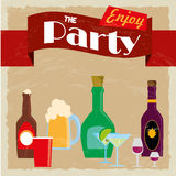 Party label Stock Images