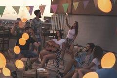 Party le temps Photo libre de droits