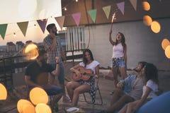 Party le temps Photos stock