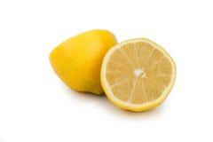Party lemon on white background Stock Photos