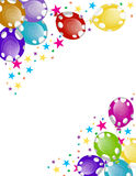 Party les ballons illustration stock