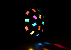 Party light disco ball Stock Photos