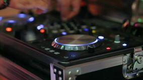 Party light music event. Party light music dj event stock footage