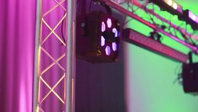 Party light music event. Party light music dj event stock video