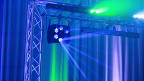 Party light music event. Party light music dj event stock video footage