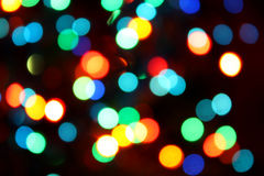 Party lights. Abstract image of brightly party colored lights royalty free stock photo