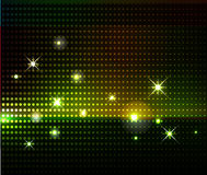 Party lights background. Disco party star lights background Royalty Free Stock Photography