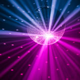 Party lights background stock photography