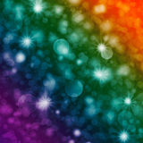 Party lights background. 3 colors light background for party or celebration royalty free illustration