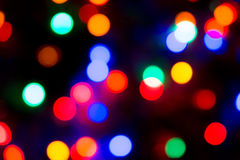 Party Lights Bokeh. Photo of colorful Christmas or party lights Bokeh stock photo