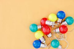 Party Lights Stock Photography