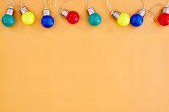 Party Lights Royalty Free Stock Photos