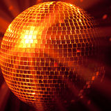 Party lights disco ball royalty free stock images