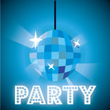 Party lights Stock Image
