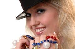Party-Mädchen lizenzfreie stockbilder