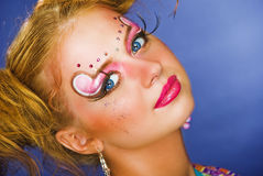 Party make up Stock Images
