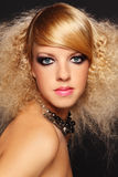 Party make-up Stock Photo
