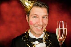 Party man Royalty Free Stock Photo