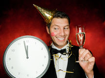 Party man Stock Images