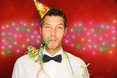 Party man Royalty Free Stock Photos