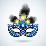Party mask emblem Stock Photography