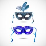 Party masks Royalty Free Stock Image