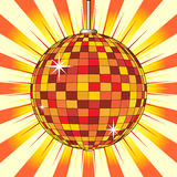 Party mirror ball Royalty Free Stock Image