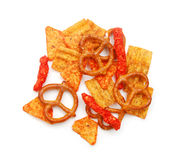 Party mix snack Stock Images