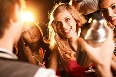 Party moment Stock Images