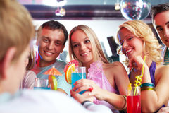 Party moment Royalty Free Stock Images