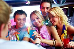 Party moment Royalty Free Stock Photo
