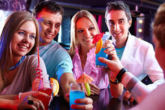 Party moment Stock Image