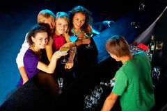 Party mood Royalty Free Stock Photos
