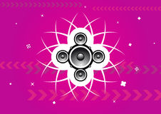 Party music background Royalty Free Stock Images