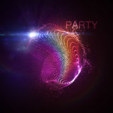 Party neon sign. Royalty Free Stock Image