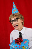 Party nerd Royalty Free Stock Photography
