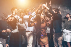 Party that never ends. Royalty Free Stock Photo