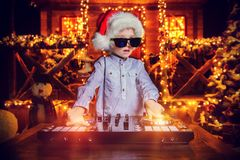 Party for new year stock photo