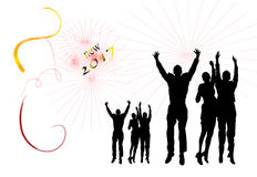 Party new year Royalty Free Stock Images