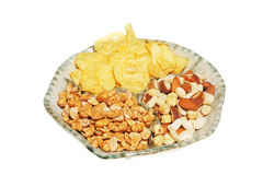 Party nibbles Stock Image