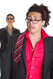 Party night is over for business man Stock Images