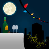 Party night Royalty Free Stock Photos