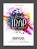 Party Night Template, Banner or Flyer design. Stock Photos