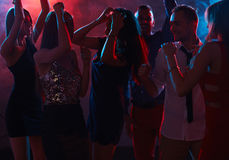 Party in nightclub Stock Images