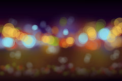 Party nigth bokeh blurs background Stock Photos