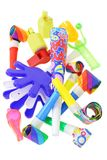 Party noisemakers Royalty Free Stock Image